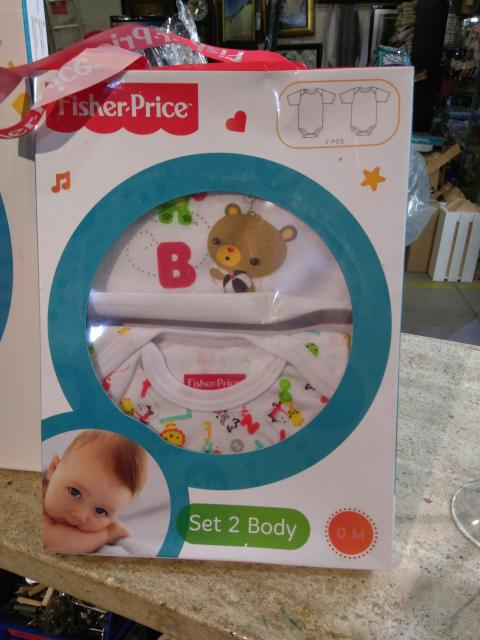 SET 2 BODY FISHER PRICE